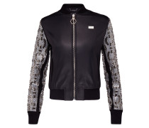 "Leather Bomber ""Snake Water"""