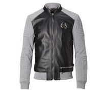 """Leather Bomber """"Taira"""""""