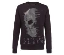 "Sweatshirt LS ""Half skull"""