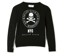 "Pullover Round Neck LS ""Noble Skull"""