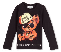 "T-shirt Round Neck LS ""Bling Teddy"""