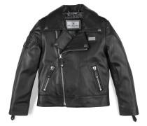 """leather jacket """"baby punk"""""""
