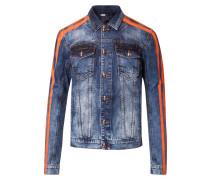 Denim Jacket tiger FASHION SHOW