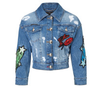 "Denim Jacket ""Centaurea """