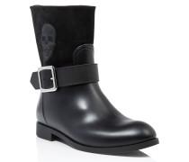 "Gummy flat low boots ""edelweiss"""