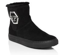 "Boots Low Flat ""Chris top"""