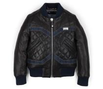 "leather jacket ""baby biker"""