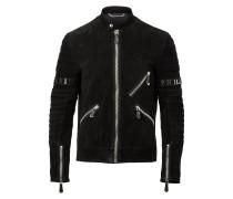 "Leather Moto Jacket ""Xavier"""