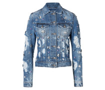 "Denim Jacket ""Happy Blue"""