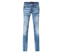 "straight cut denim ""free"""