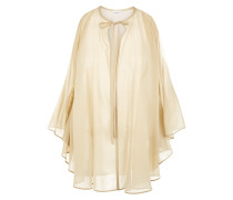 Beyond the Beach Kurzer Kaftan Aus Seidengeorgette Mit Stretch