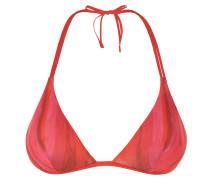 Summer Stripe Bikini-Bh in Triangel-Form Mit Streifen-Print