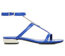 Shoes Flache Sandale Mit Kette