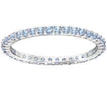 Vittore Ring Blau Rhodiniert