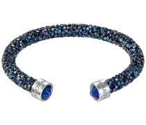 Crystaldust Armreif, blau, Edelstahl Blau Edelstahl
