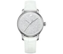 Swarovski Crystalline Hours Uhr, White Weiss Edelstahl