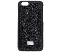 Glam Rock Smartphone Etui mit Bumper, iPhone® 7, schwarz Edelstahl