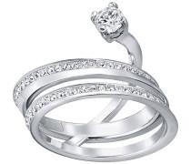 Swarovski Fresh Ring Weiss Rhodiniert