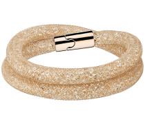Stardust Deluxe Armband Weiss Rosé vergoldet