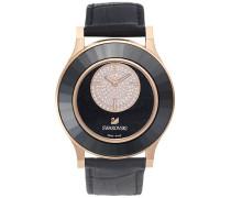Octea Classica asymmetric Black Rose Gold Tone Uhr Grau Rosé vergoldet