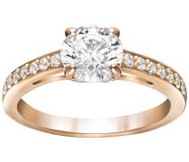 Attract Ring Weiss Rosé vergoldet