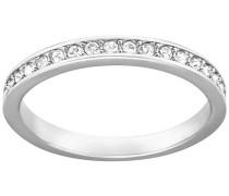Rare Ring Weiss Rhodiniert