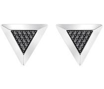 Gentleman Triangle Manschettenknöpfe, grau, metallmix Grau