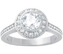 Angelic Ring Weiss Rhodiniert