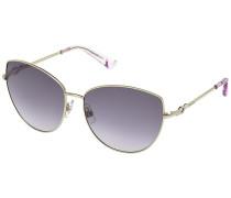 Fifi Violet Sonnenbrille vergoldet