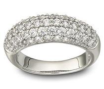Maeva Ring Weiss Rhodiniert