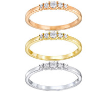 Frisson Ring Set Weiss