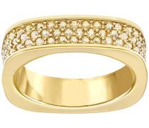 Vio Ring Braun vergoldet