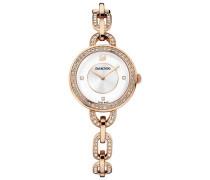 Aila White Rose Gold Tone Bracelet Uhr Weiss Rosé vergoldet