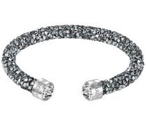 Crystaldust Armreif, grau, Edelstahl Grau Edelstahl