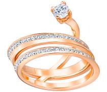 Fresh Ring Weiss Rosé vergoldet