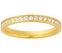 Swarovski Rare Ring Weiss vergoldet