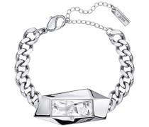 Jean Paul Gaultier for Atelier , Reverse Armband Weiss Rhodiniert
