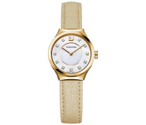 Dreamy Uhr, Mother-of-Pearl Weiss vergoldet