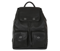 MEDIUM LEDERRUCKSACK 'KYOTO'