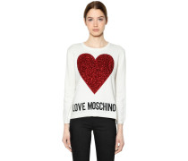 STRICKPULLOVER 'LOVE MOSCHINO'