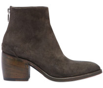 50MM SUEDE ANKLE BOOTS