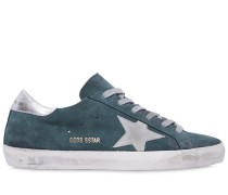 10MM HOHE SNEAKERS AUS WILDLEDER 'SUPER STAR'