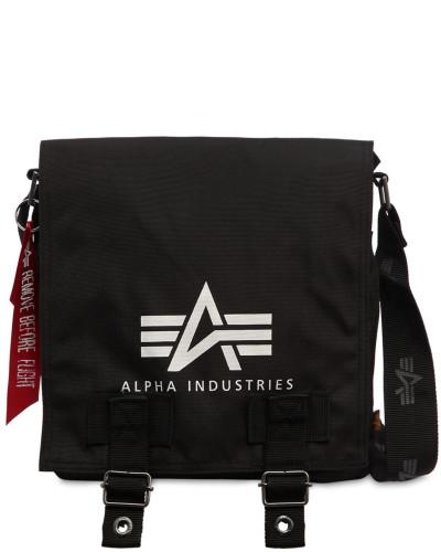 Alpha Industries Herren WERKZEUGTASCHE 'BIG A LOGO OXFORD'