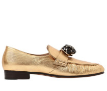20MM HOHE LOAFERS AUS LEDER 'PANTHER'