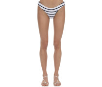 RETRO STRIPED RIB BIKINI BOTTOMS