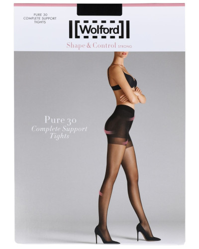 PURE 30 DEN COMPLETE SUPPORT STOCKINGS