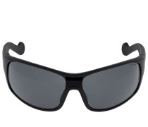MASK SUNGLASSES W/ POLARIZED LENSES
