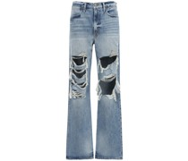 "BAGGY-JEANS MIT RISSEN ""LE HOLLYWOOD"""