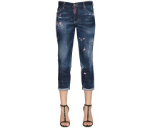 BOYFRIEND-JEANS AUS DENIM