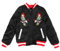 BOMBERJACKE AUS SATIN 'EAGLES'